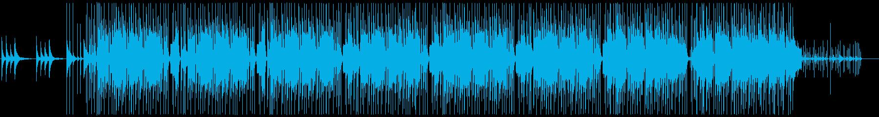 ジングル。電子打楽器。繰り返します。の再生済みの波形
