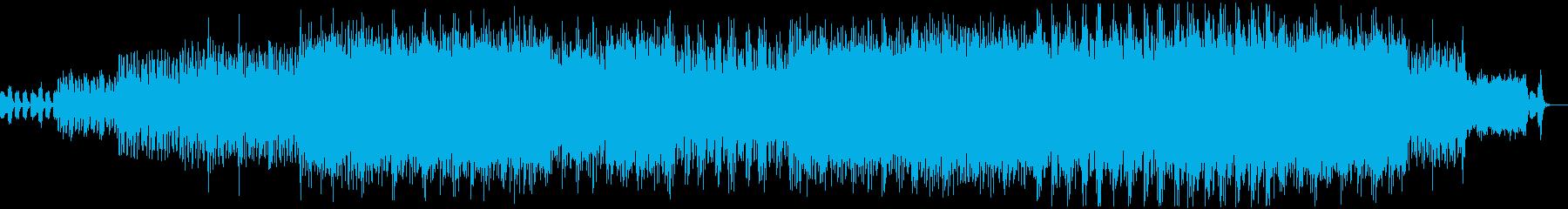 音の迷路への入り口、混沌への序曲の再生済みの波形