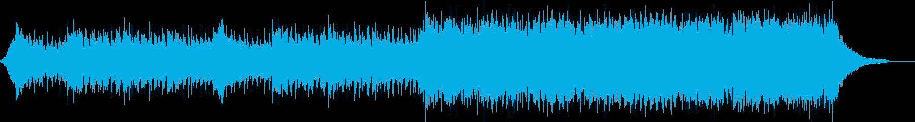 企業VP映像、109オーケストラ、壮大bの再生済みの波形