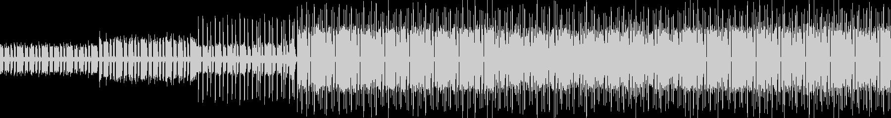 新しくて懐かしいエレクトロミュージックの未再生の波形