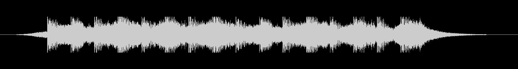 砂漠のキャラバン(30秒)の未再生の波形