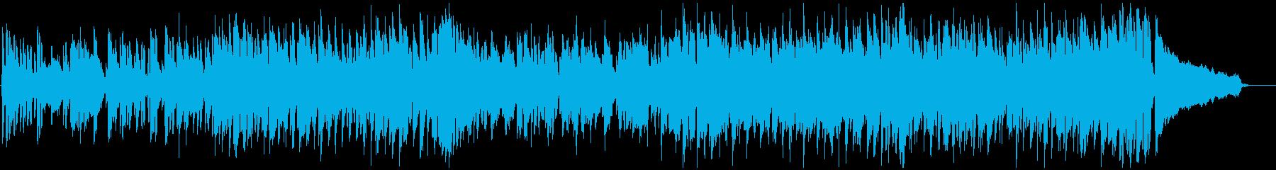 とぼけた脱力系リコーダーのコメディ劇伴の再生済みの波形