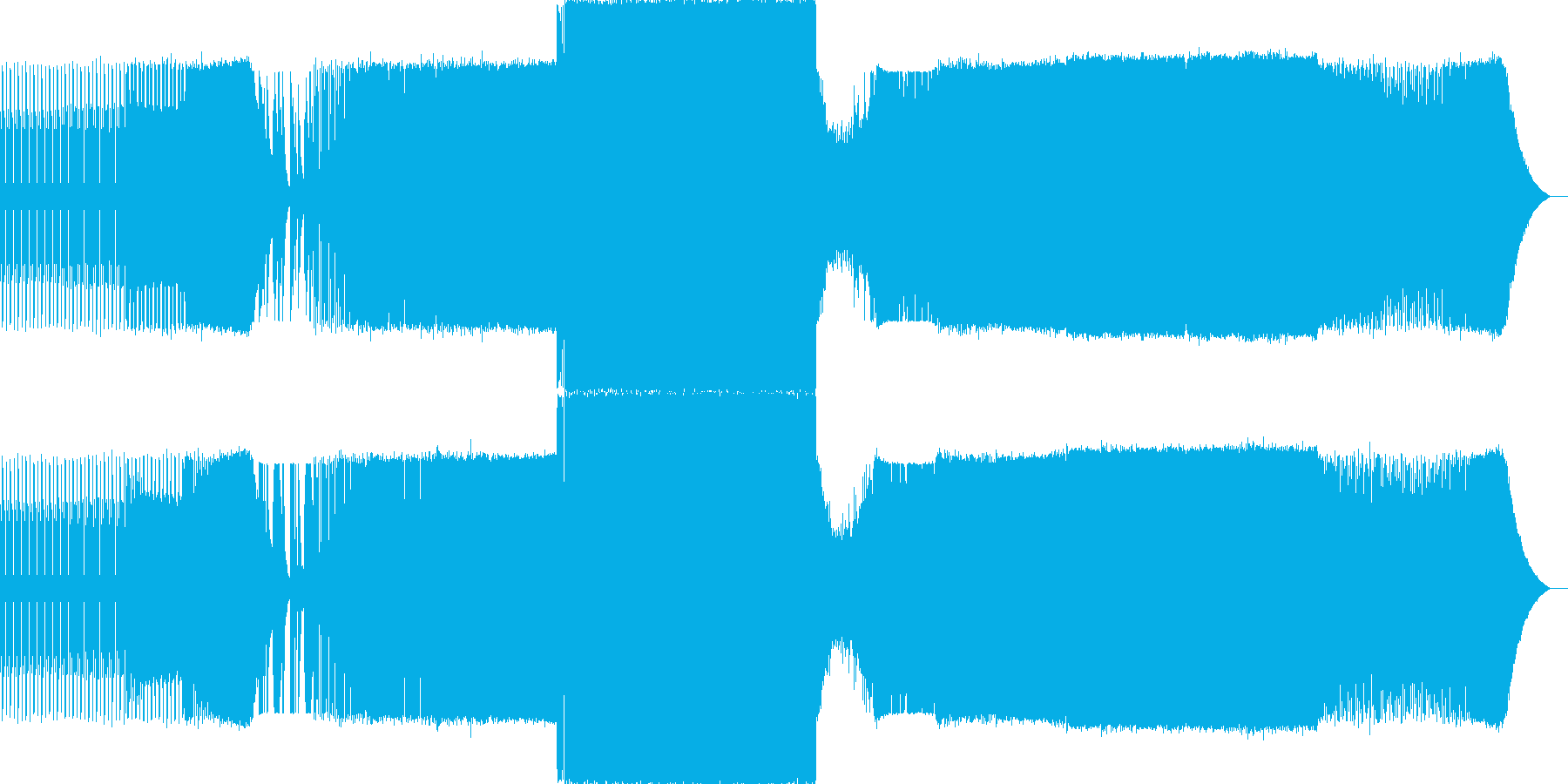 Edm音楽。プログレッシブ。の再生済みの波形