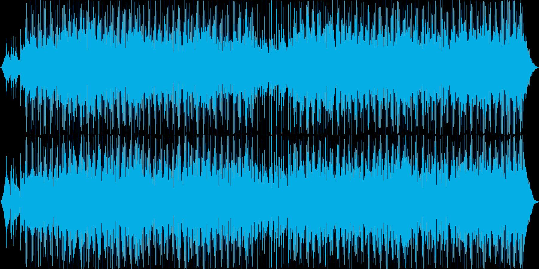 可愛らしいほのぼのBGMの再生済みの波形