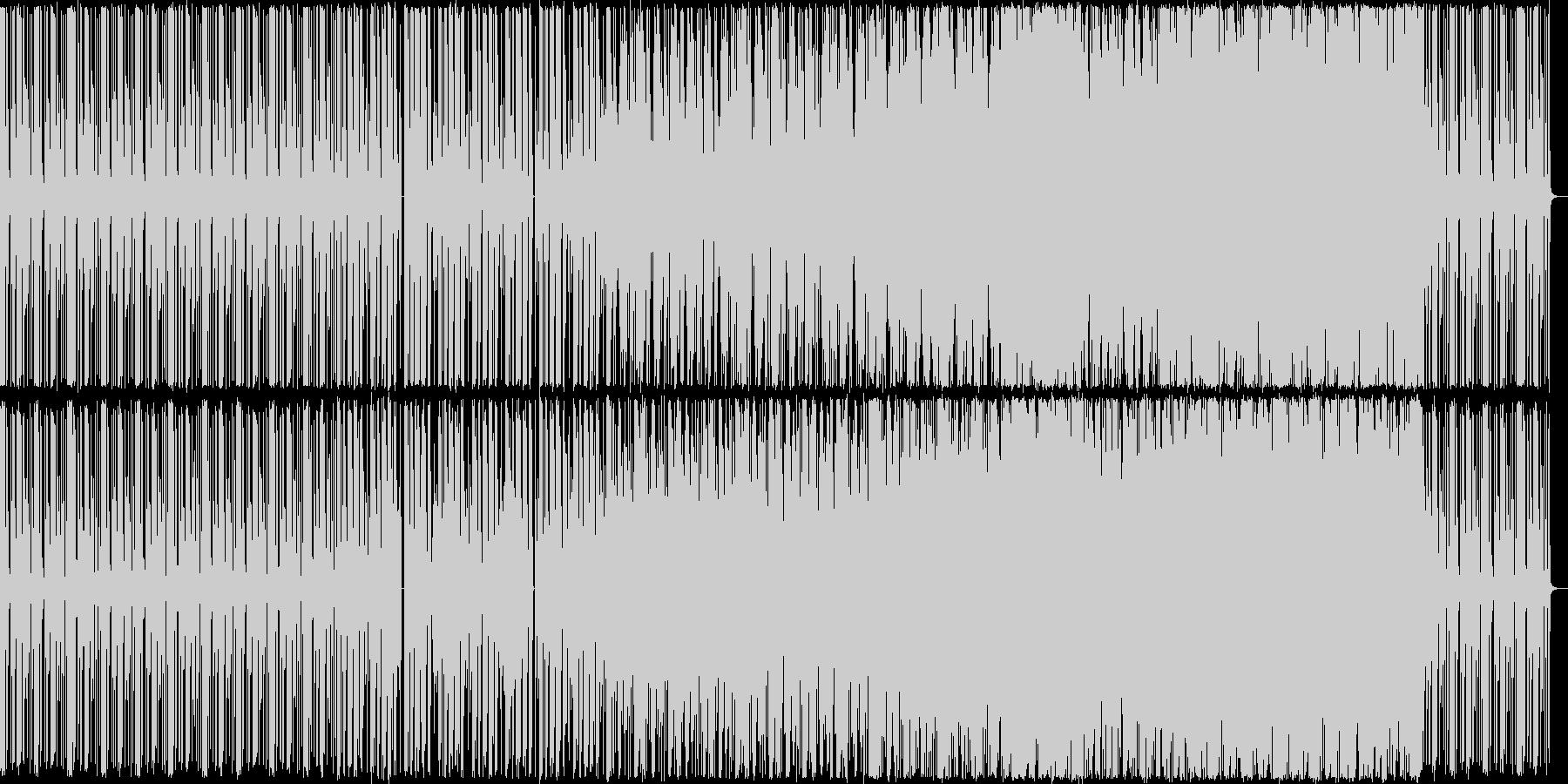 【ドラム抜き】ピアノとドラムを主体としたの未再生の波形