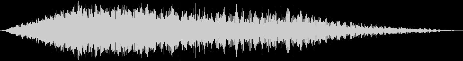 スキャンインフィルターデータスイープの未再生の波形
