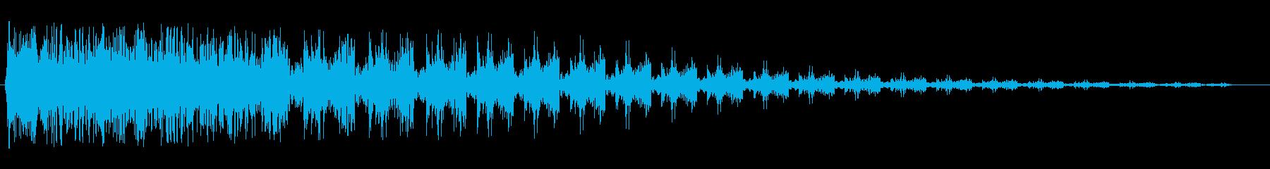 ダンダジャジャ…(クイズ開始、問題です)の再生済みの波形