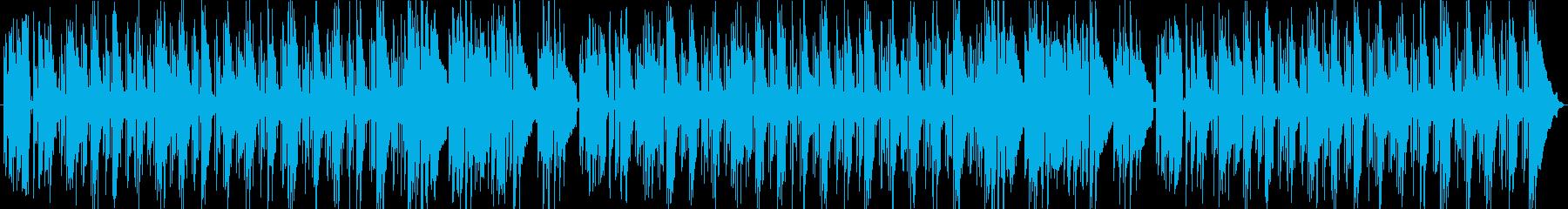 昼下がりの能天気な明るいアコギBGMの再生済みの波形
