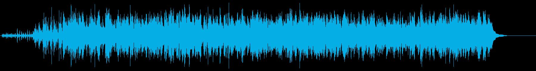 リラックスできるベースの利いたJAZZの再生済みの波形
