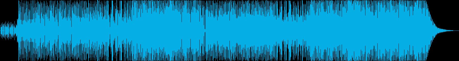 ノリノリなダンスポップの再生済みの波形