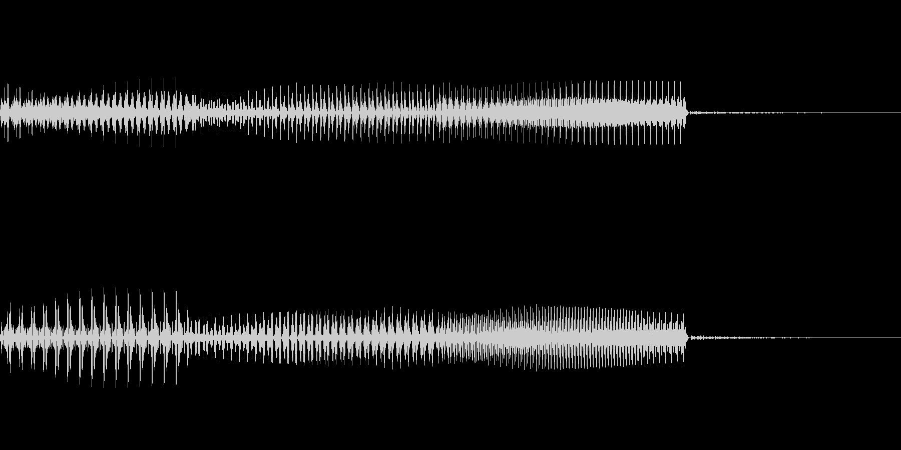 明るい決定音、レアアイテムをゲットした時の未再生の波形
