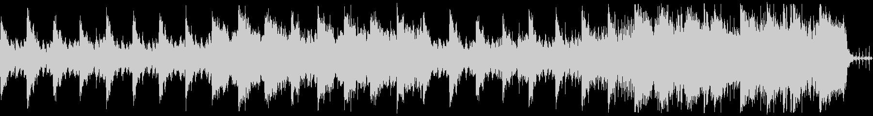 タイトル画面や回想シーン向けなBGMの未再生の波形