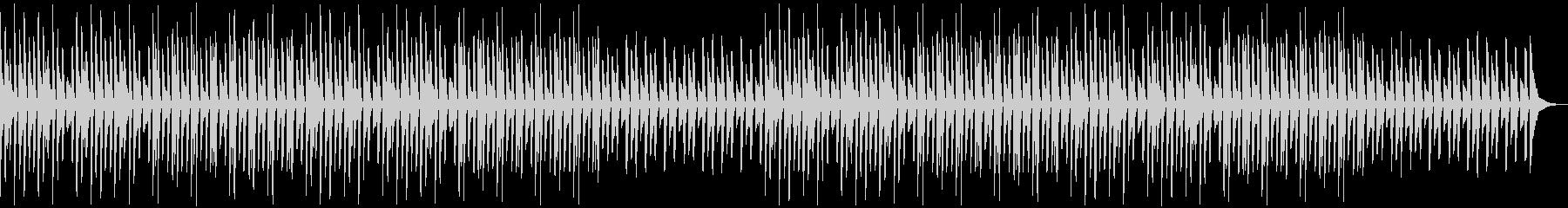 YouTube・ほのぼのピアノソロの未再生の波形