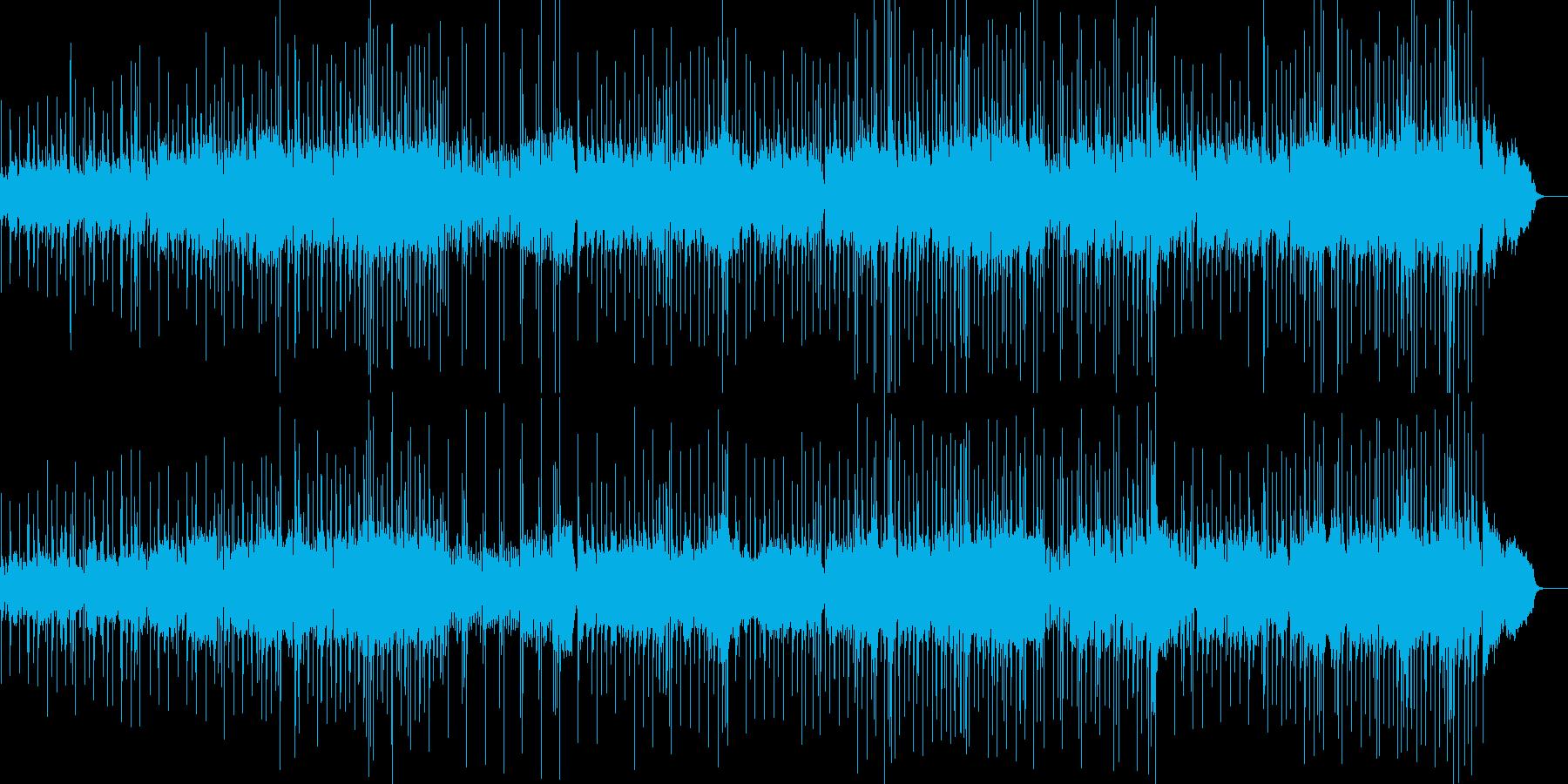 ソプラノサックスのメロディが綺麗バラードの再生済みの波形