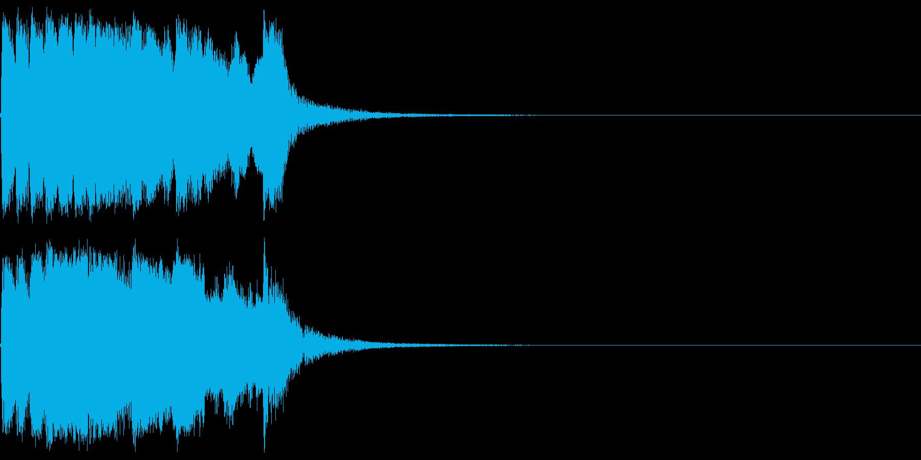 ファンファーレ 当たり 正解 合格 03の再生済みの波形