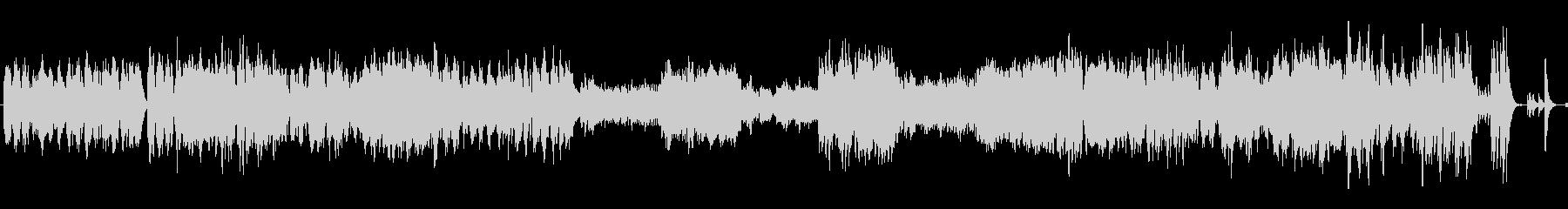 ワルツ 第4番 ピアノ+オケ版の未再生の波形