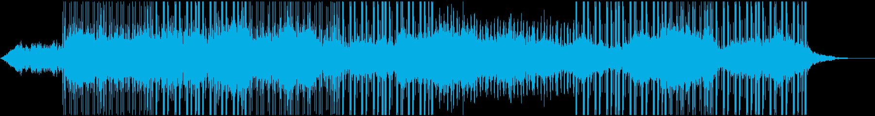 神秘的なのに何故かヒップホップドラムの再生済みの波形