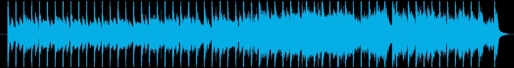 爽やかに始まる朝の30秒BGMの再生済みの波形