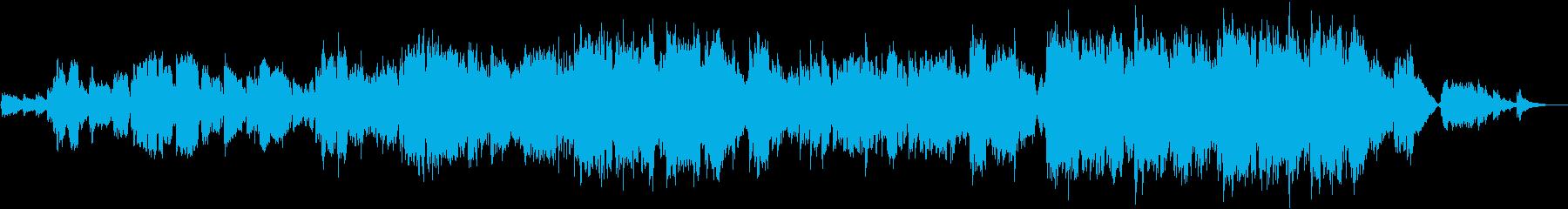 女性ボーカルによる爽やかで切ないバラードの再生済みの波形