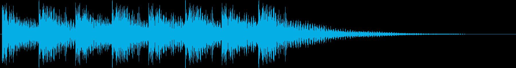 ダンドンダンドン・・・(ティンパニ)の再生済みの波形