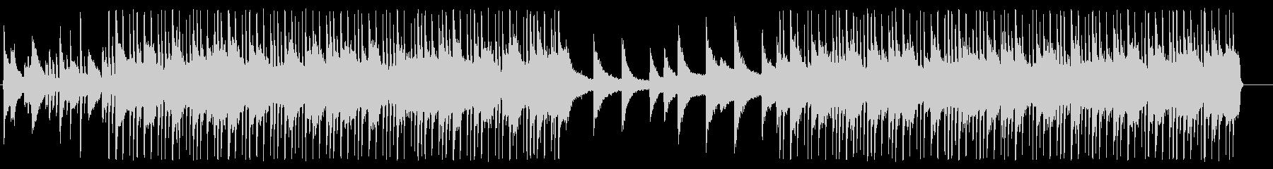 おしゃれなR&BオルガンBGM05の未再生の波形