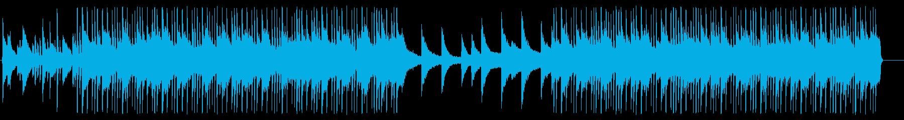 おしゃれなR&BオルガンBGM05の再生済みの波形