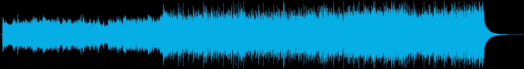 ハイブリッドシネマティック/インサートの再生済みの波形