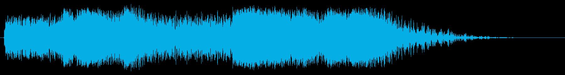 大型タンブリングメタルクラッシュメ...の再生済みの波形