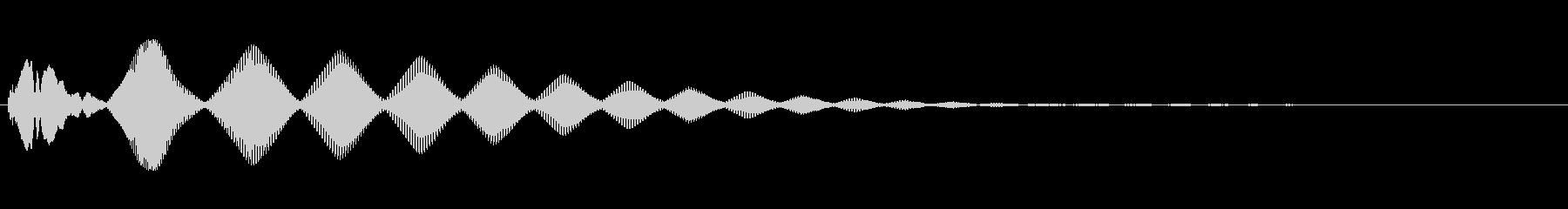 さまざまなピッチで複数のレーザービ...の未再生の波形