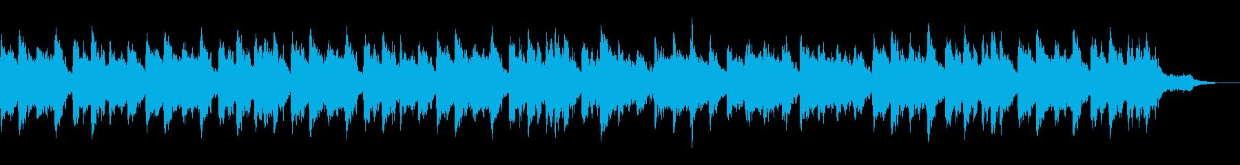 テーマ「オカリナの故郷へ走る」60秒の再生済みの波形