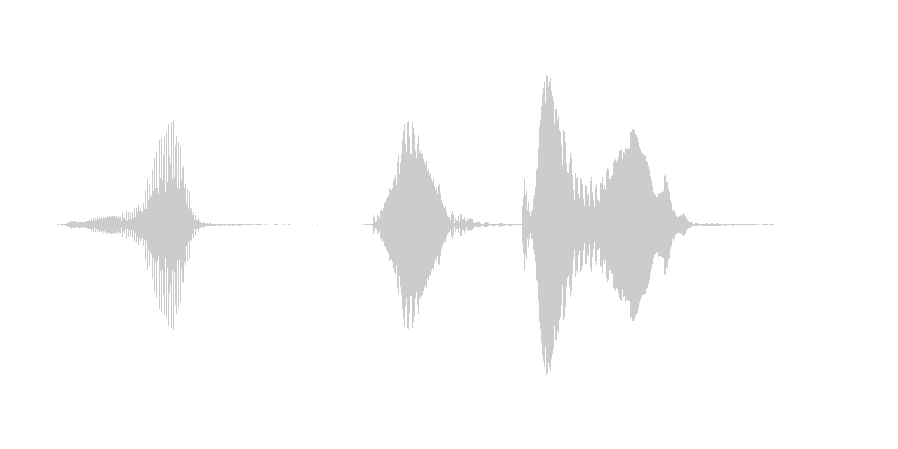 ギ、ギク!(ぎ、ぎく!)の未再生の波形