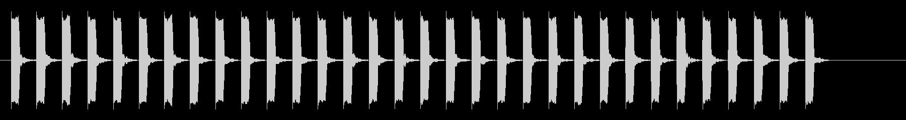 心電図の音-2-10(BPM130)の未再生の波形