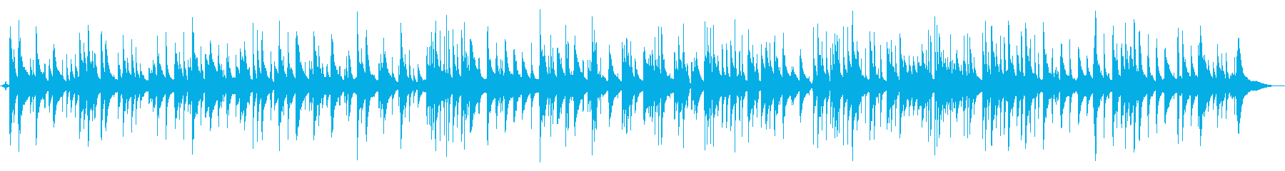 YouTubeセクシー大人のピアノジャズの再生済みの波形