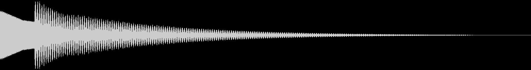キラーン  (シンプル)の未再生の波形