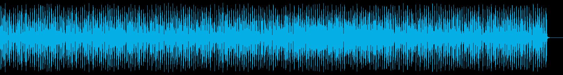 陽気でほのぼのアコーディオンジャズの再生済みの波形