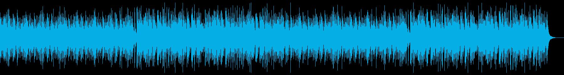 切ない箏の旋律が印象的な和風曲の再生済みの波形