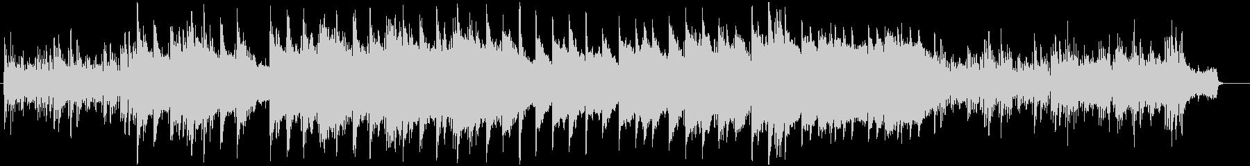 ピアノとストリングスのスローバラードの未再生の波形