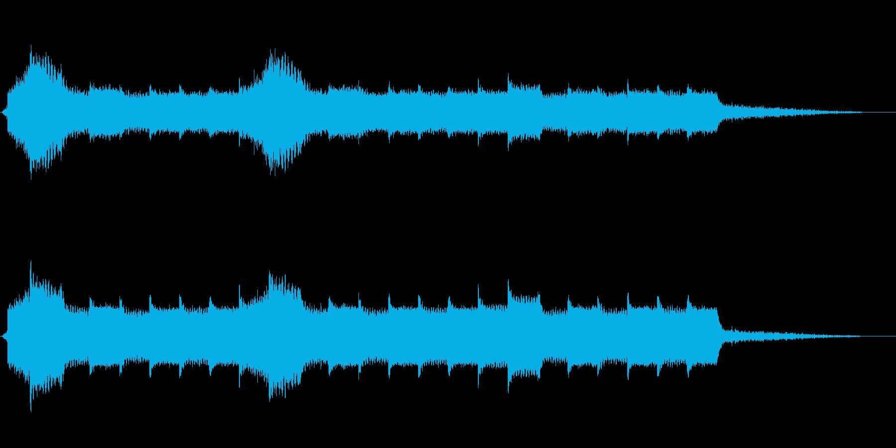 スーパーナチュラルの再生済みの波形