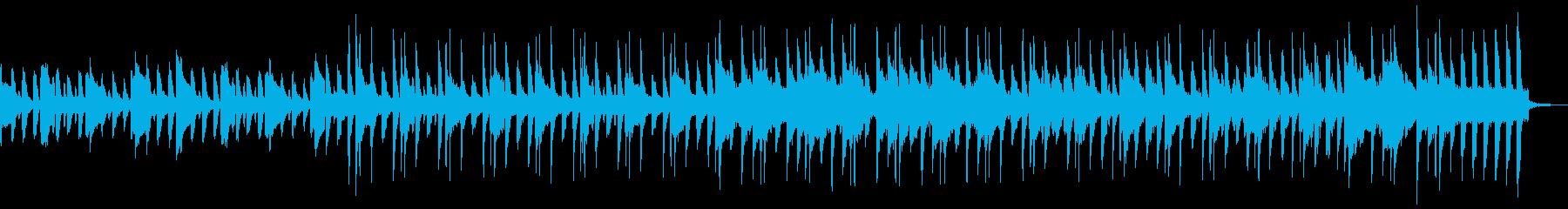 チャイム、ストリングス、ピアノ、ア...の再生済みの波形