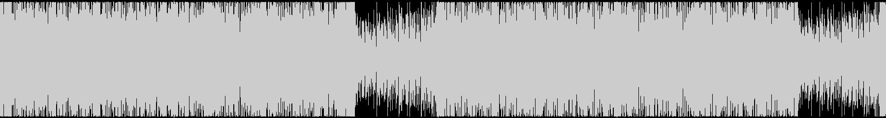 【ループ対応】切ないミドルテンポEDMの未再生の波形