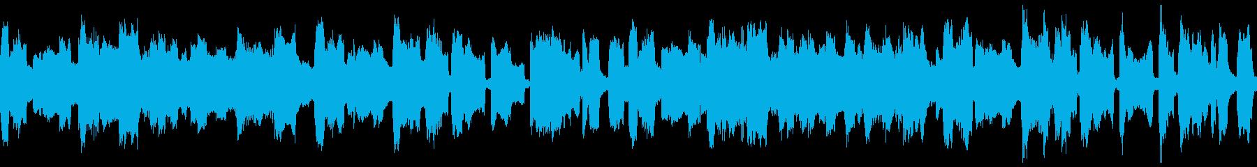のんびり・のん気なペット、赤ちゃんBGMの再生済みの波形