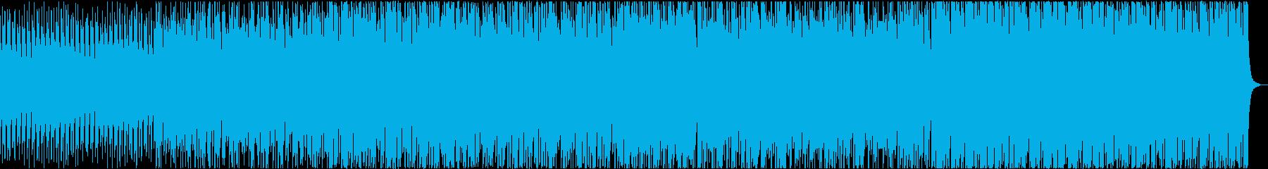 ドライブしているイメージの再生済みの波形