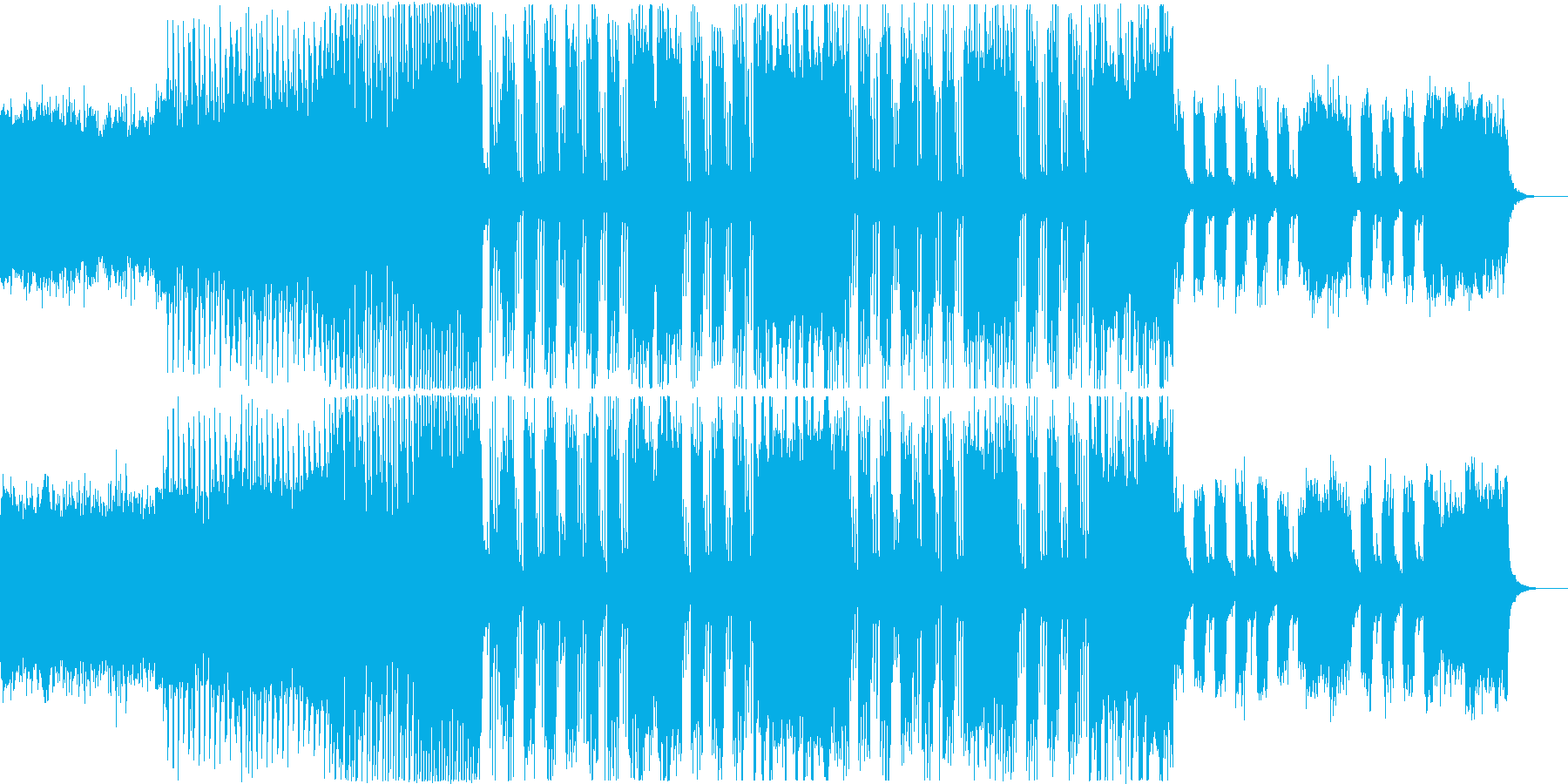 企業VP、CM系EDM 4の再生済みの波形