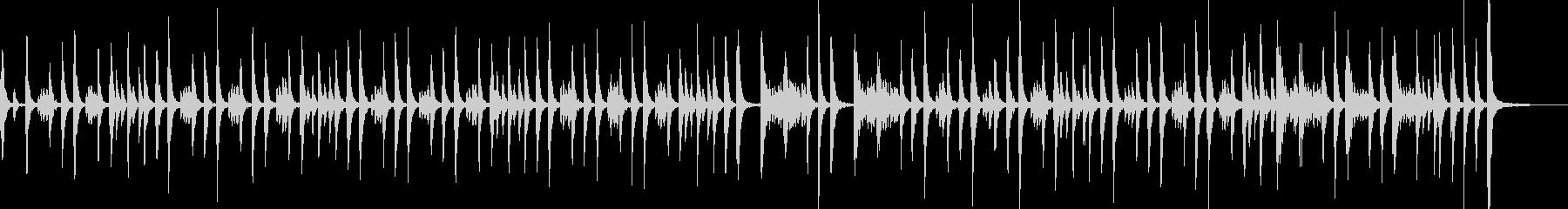 ドラム:マーチ、ロング、キック、スネアの未再生の波形