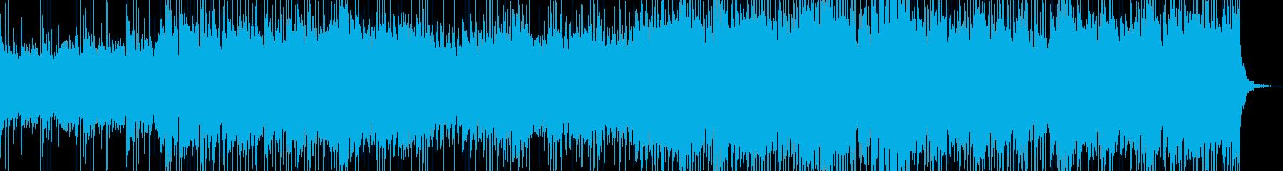 疾走感のあるSTG向けハウステクノの再生済みの波形