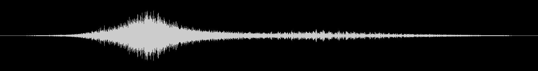 オーバーヘッドパスの未再生の波形