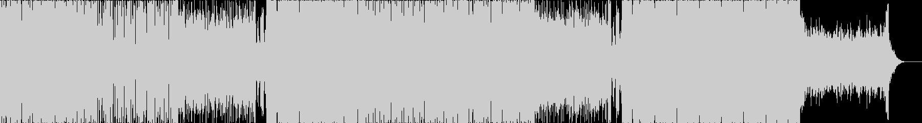 映像やCMに/お洒落でダークなエレクトロの未再生の波形