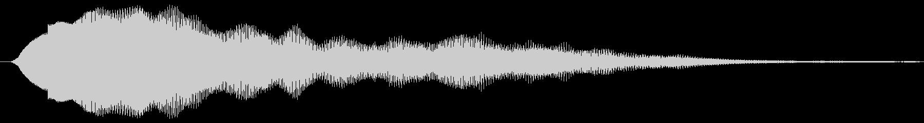 鋭い リンギングブリッター13の未再生の波形