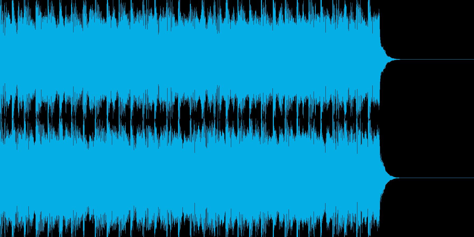 軽快なスピード感のあるBGMです。の再生済みの波形