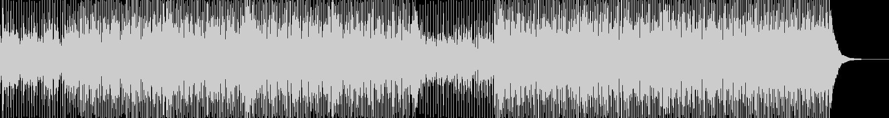 ガットギターメインのおしゃれなBGMの未再生の波形